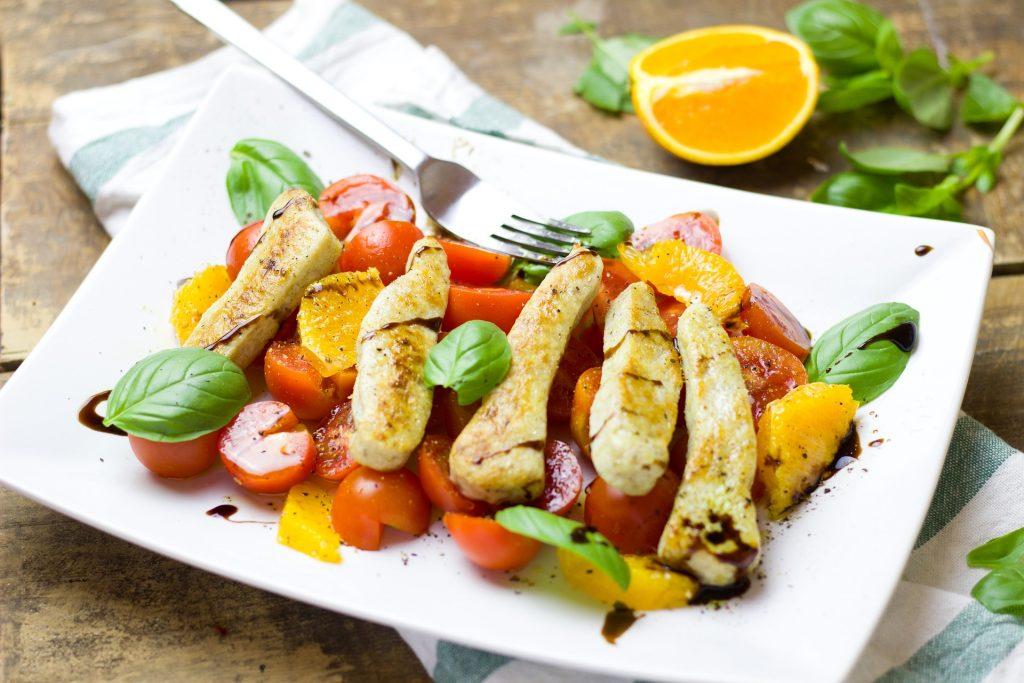 Vegetarisch eten en afvallen